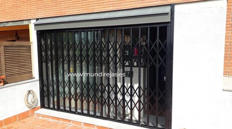 Rejas de seguridad para puertas
